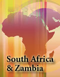 South Africa and Zambia